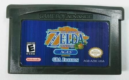Jogo Zelda Oracle of Ages Gba Edition - GBA