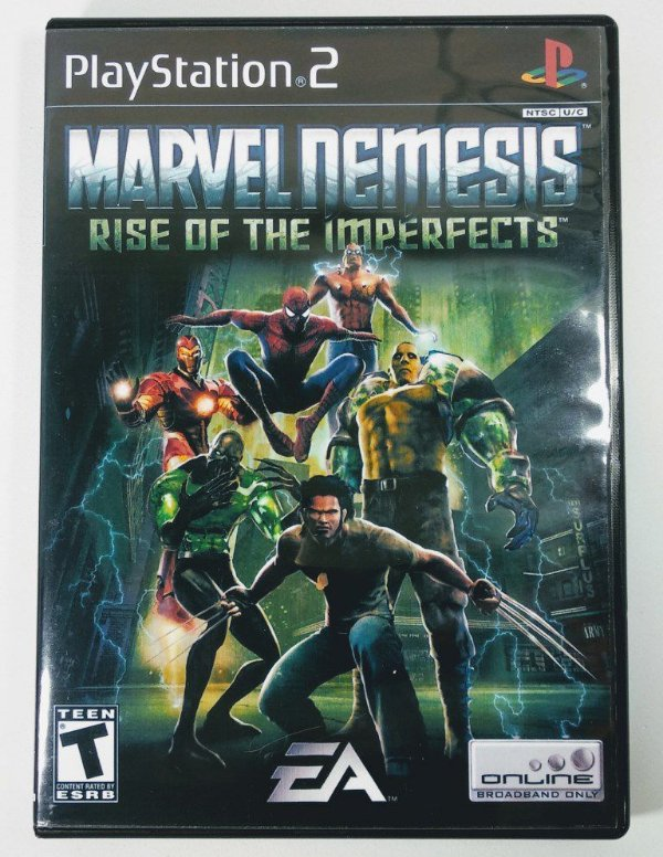 Marvel Nemesis Rise of the Imperfects [REPLICA] - PS2
