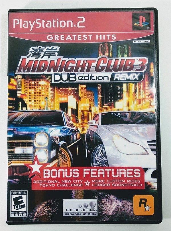 Midnight Club 3 Dub Edition Remix [REPLICA] - PS2