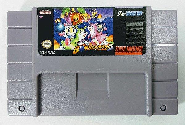 Jogo Super Bomberman 3 - SNES