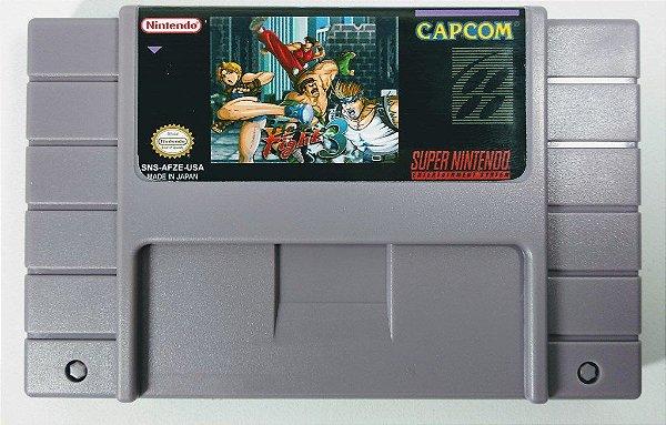 Jogo Final Fight 3 - SNES