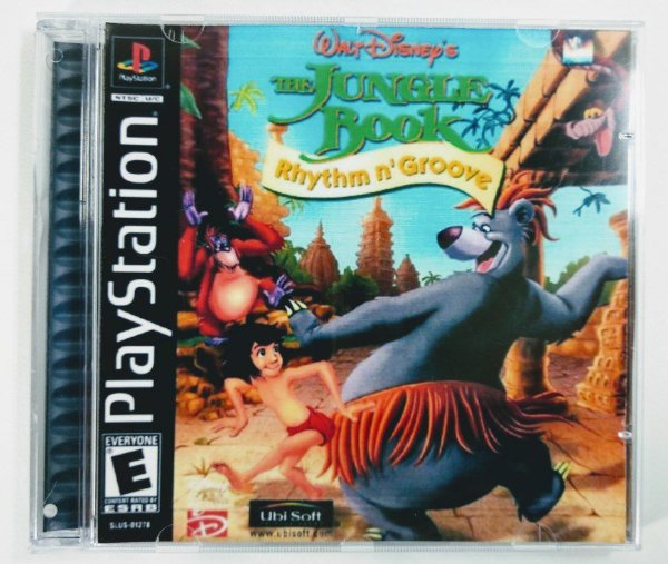 The Jungle Book Rhythm n Groove [REPLICA] - PS1 ONE