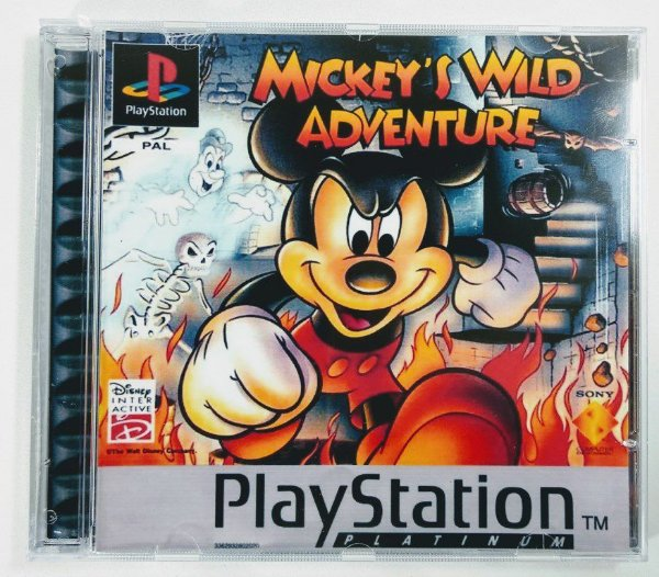 Mickeys Wild Adventure [REPLICA] - PS1 ONE