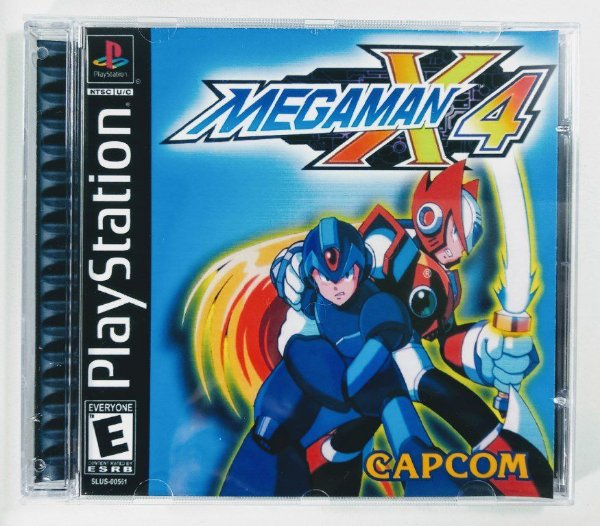Megaman X4 [REPLICA] - PS1 ONE