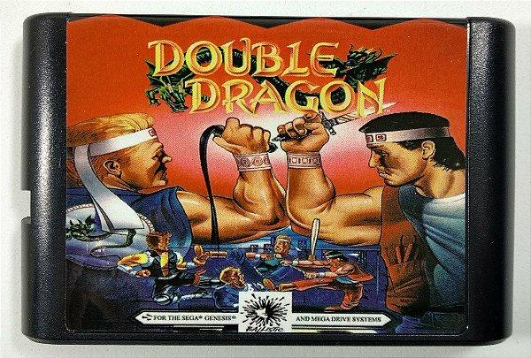 Jogo Double Dragon - Mega Drive