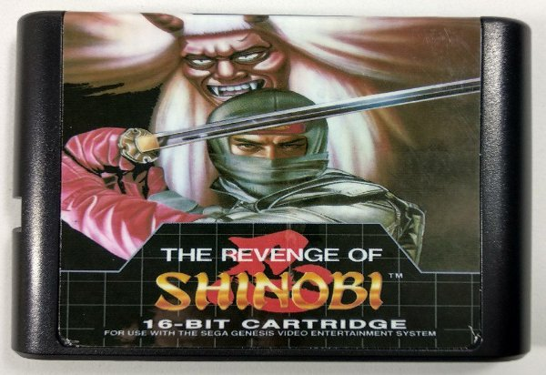 Jogo The Revenge of Shinobi - Mega Drive