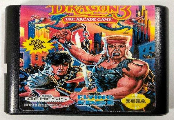 Jogo Double Dragon 3 - Mega Drive