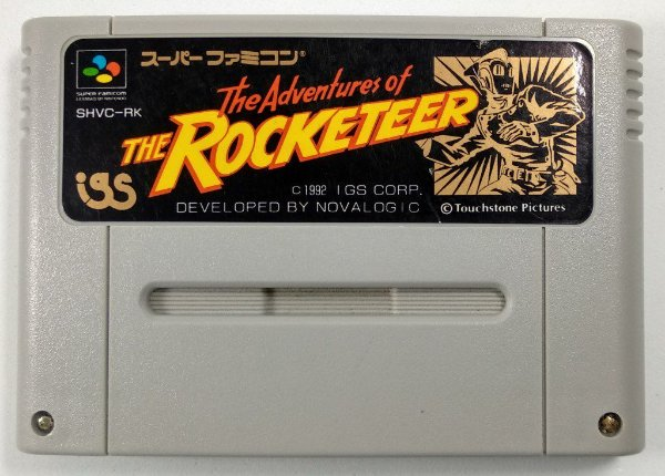 The Adventures of the Rocketeer Original - Super Famicom