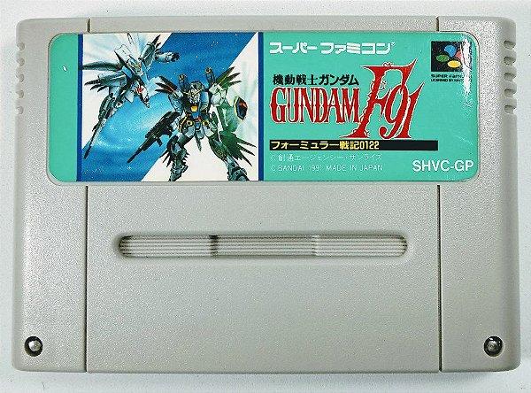 Gundam F91 Formula Senki 0122 - Super Famicom