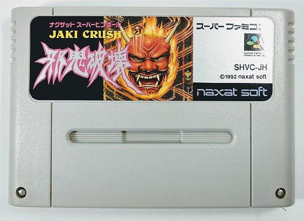 Jogo Jaki Crush Original - Super Famicom