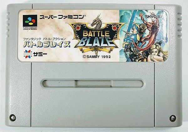 Jogo Battle Blaze Original - Super Famicom