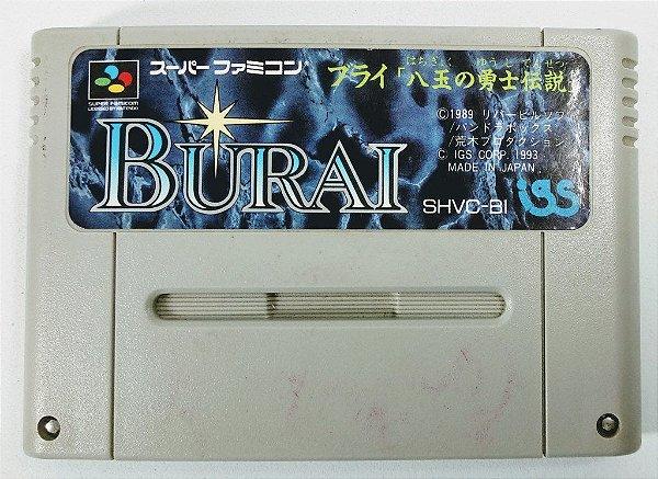Jogo Burai Original - Super Famicom