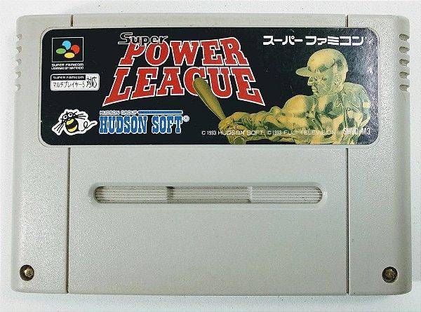 Jogo Super Power League Original - Super Famicom