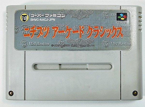 Jogo Nichibutsu Arcade Classics - Super Famicom