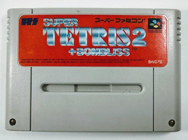 Jogo Super Tetris 2 + Bombliss Original - Super Famicom