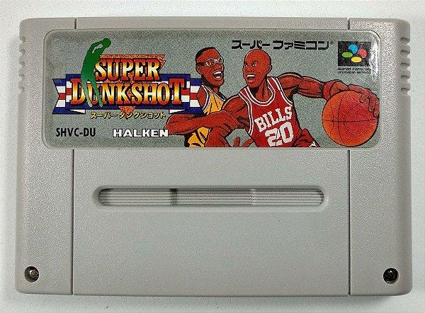 Jogo Super Dunk shot Original - Super Famicom