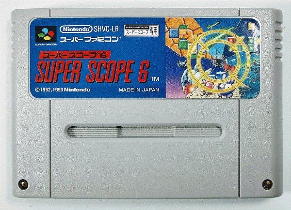 Jogo Super Scope 6 Original - Super Famicom