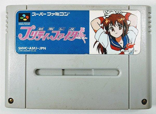 Jogo Seifuku Densetsu Pretty Fighter - Super Famicom