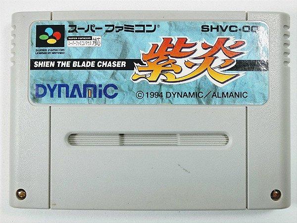 Jogo Shien The Blade Chaser Original - Super Famicom