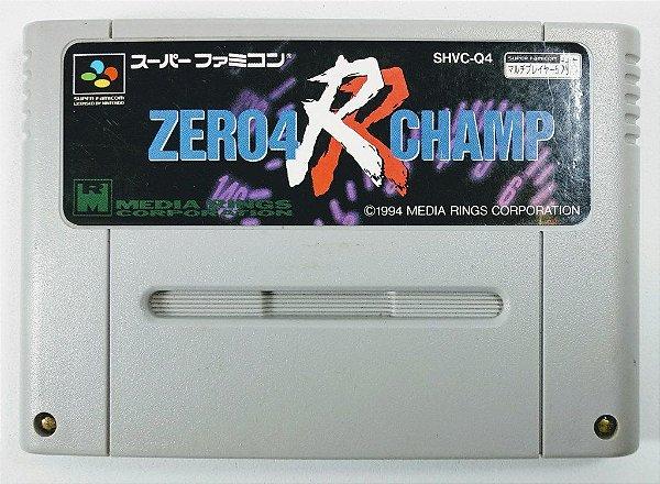 Jogo Zero 4 R Champ Original - Super Famicom