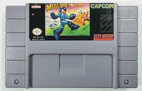 Jogo Mega Man Soccer - SNES