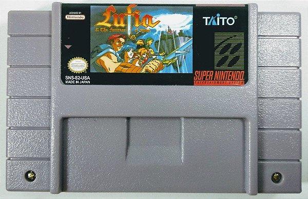 jogo Lufia & The Fortress Of Doom - SNES