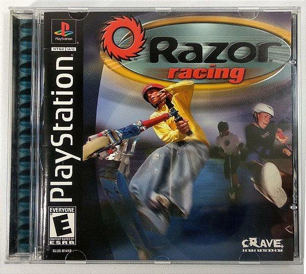 Jogo Razor Racing Original  - PS1 ONE