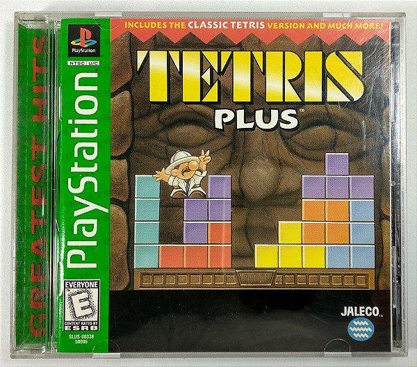 Jogo Tetris Plus Original  - PS1 ONE