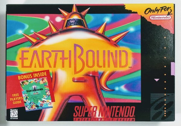 Jogo Earthbound - SNES