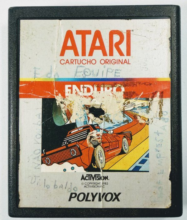 Jogo Enduro Original - Atari