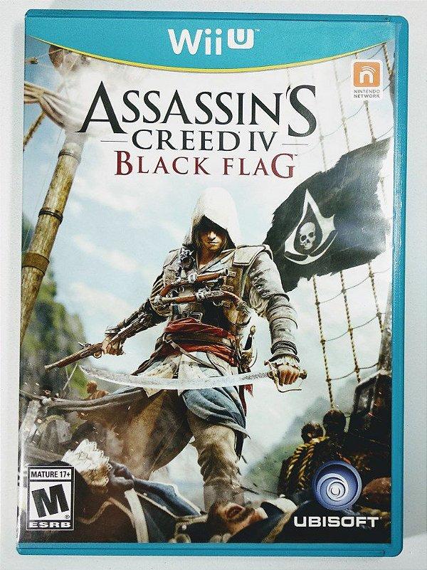 Jogo Assassins Creed IV: Black Flag Original - Wii U
