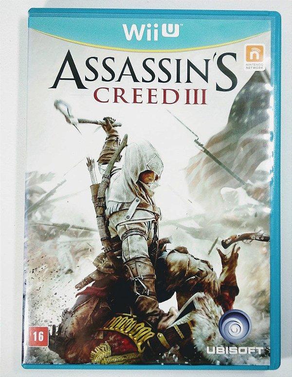 Jogo Assassins Creed III Original - Wii U