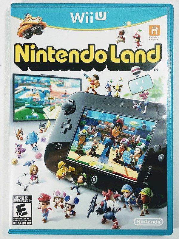 Jogo Nintendo Land Original - Wii U