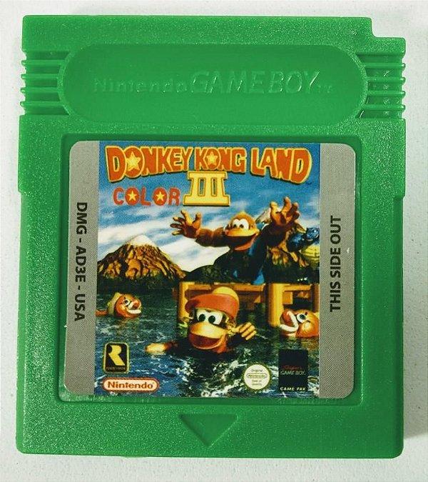 Jogo Donkey Kong Land III - GBC