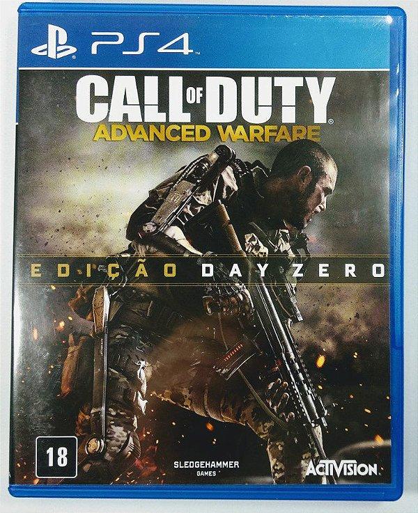 Jogo Call of Duty Advanced Warfare edição Day Zero - PS4