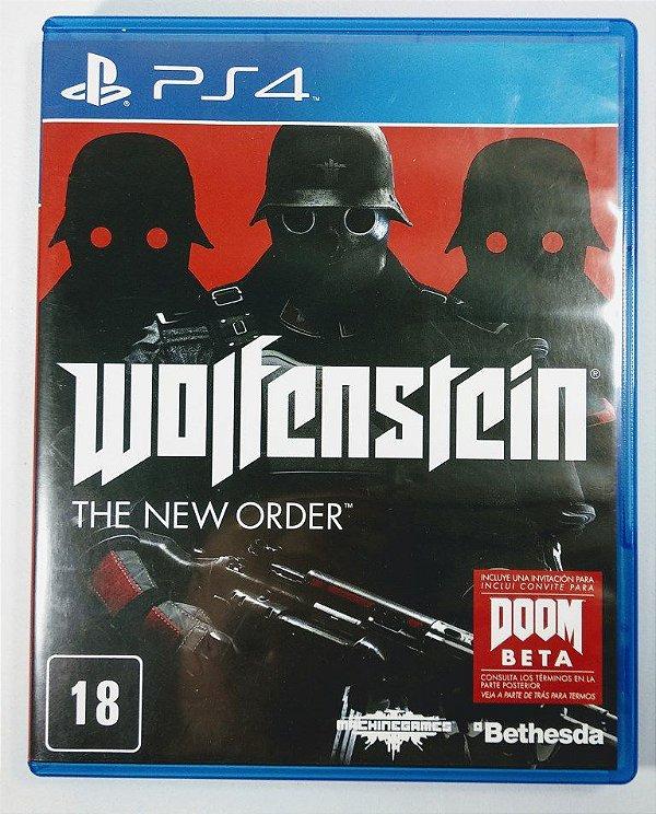 Jogo Wolfenstein the New Order - PS4