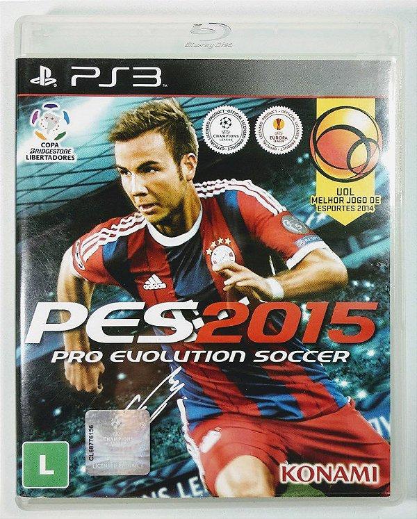 Jogo PES 2015 - PS3
