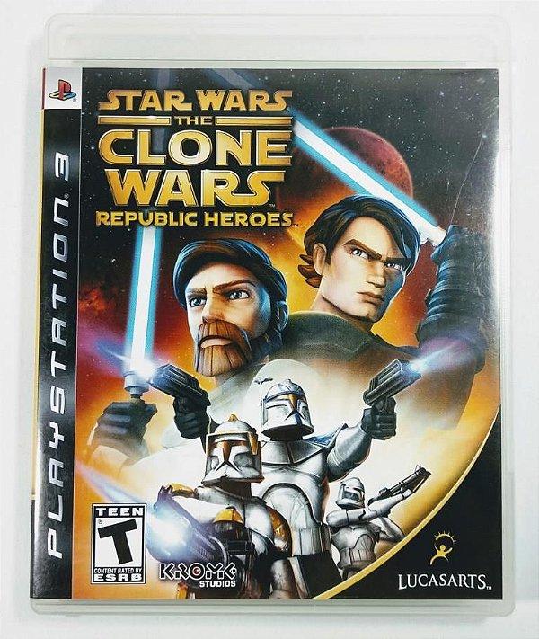 Jogo Stars Wars the Clone Wars Republic Heroes - PS3