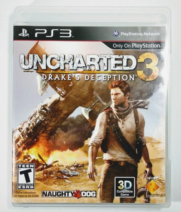 Jogo Uncharted 3 Drakes Decepction - PS3