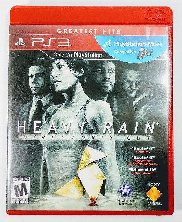 Jogo Heavy Rain Directors Cut - PS3