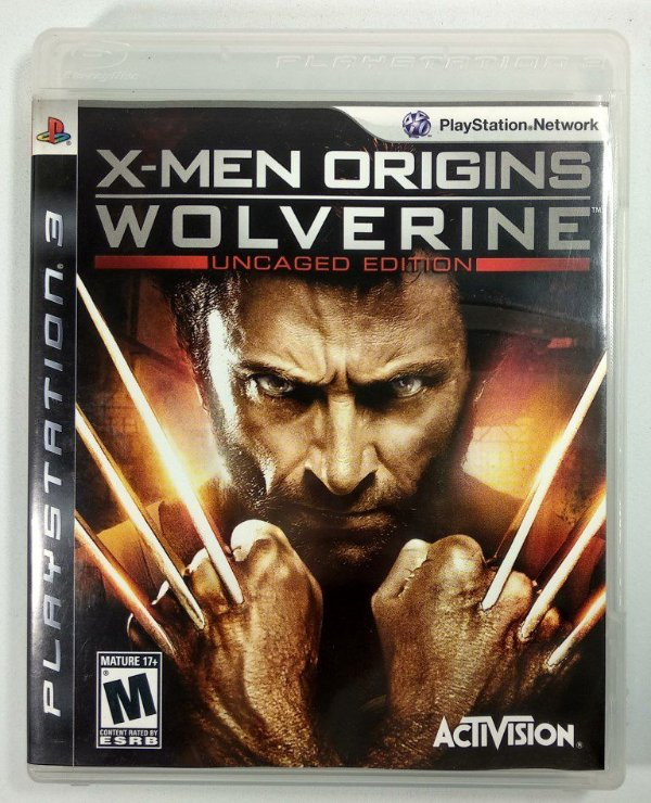 Jogo X-men Origins Wolverine - PS3