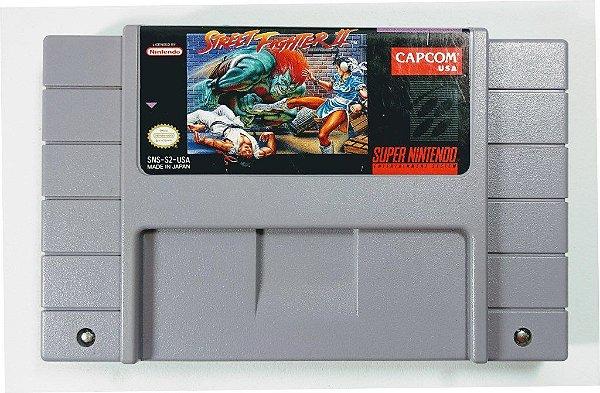 Jogo Street Fighter 2 Original - SNES