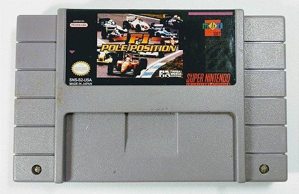 Jogo F1 Pole Position Original - SNES