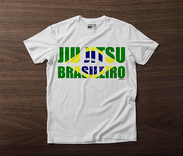 CAMISETA JIU JITSU BRASILEIRO - BRANCA