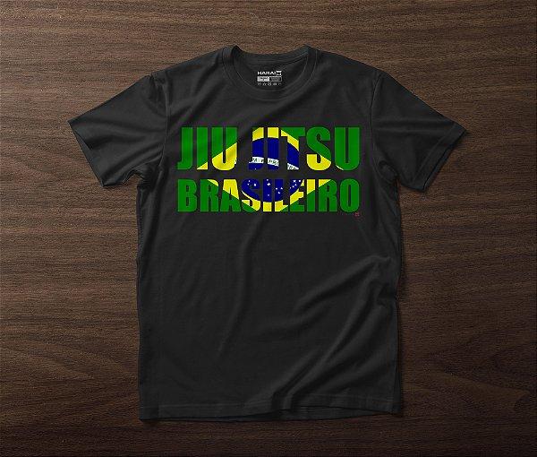 CAMISETA JIU JITSU BRASILEIRO - PRETA