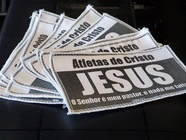 Patch Atleta de Cristo 19cm x 10cm