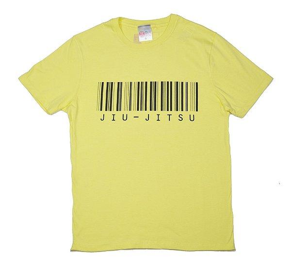 Camiseta de Jiu Jitsu Código de Barras