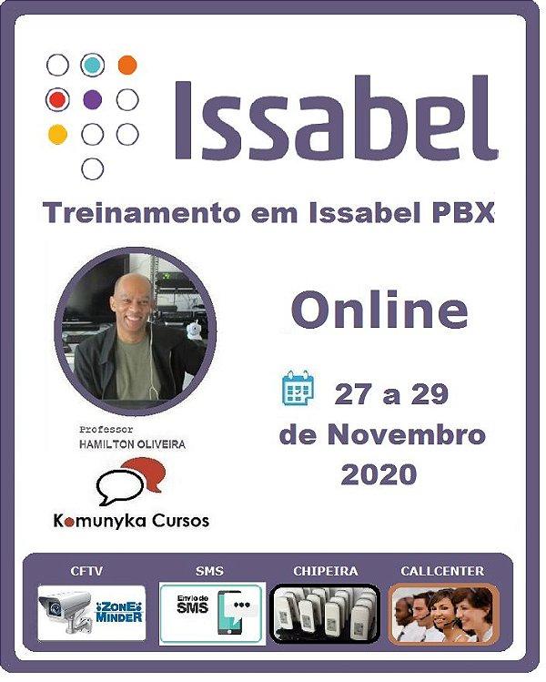 Treinamento em Issabel -ONLINE - Curso de Telefonia IP