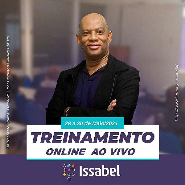 Treinamento em Issabel PBX - ONLINE AO VIVO - 28 A 30 DE MAIO 2021 - TELEFONIA IP