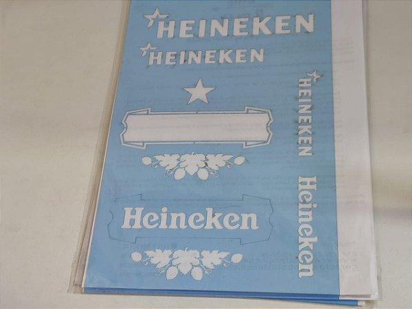 STENCIL VAN BORA 28X19 HEINEKEN